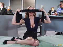 blindfolded and fucked at work