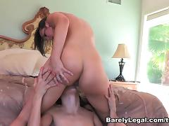 Celeste Star in Lesbian Ass Worship