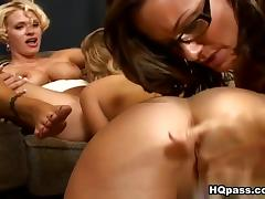 Brianna Ray, Kristen Cameron, Teagan in A closer look Video