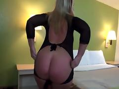 Shaved Cunt Blonde Fucked In Gangbang