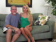 Old guy with grey hair gets to nail the always sexy Aaliyah Love