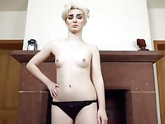 Showing off with my goods in homemade webcam porn video