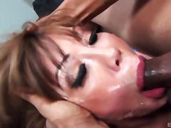 Ava Devine is quite good in taking the boner deep into her mouth