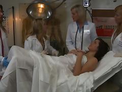 Aiden Starr & Bobbi Starr in Lesbian Hospital #02, Scene #01