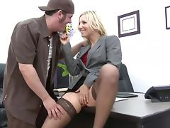 Joey Gets A Crack At Boss Ashley Fires' Crack