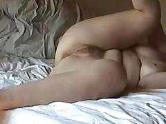 Danish Wife in bed with friend again