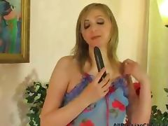 Babe In A Cute Blue Dress Ass Fucked russian cumshots swallow