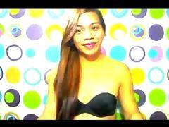 Real Filipina Hermaphrodite Live Show #1