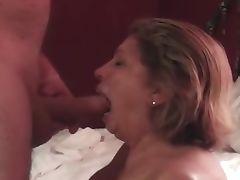 Mature Big Tits Queen Marti Loves Sucking Cock