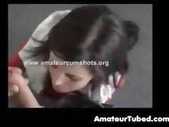 Hot amateur brunette