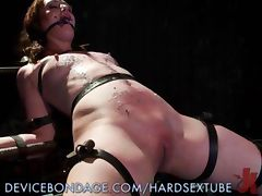 Sex Slave Gets Hot Wax Treatment