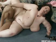 Threesome sex party with BBW slut part5