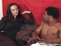 Black stud with enormous dick fucked