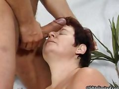 Horny mature housewife goes crazy part2