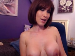Busty Babe Reached Climax HD