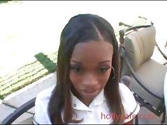 Divine School Girl Blowjob Creampie