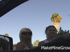 Two Hot Blondes Get Fucked