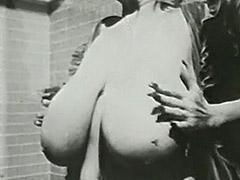 Big Boobed MILF Takes a Bath 1970
