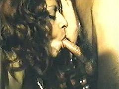Greek Threesome Fucking at the Bar 1970