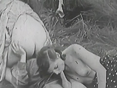 Rough Sex in Green Meadow 1930