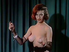 Entertaining Striptease of Saloon Girls 1960