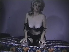 Mature Babe Demonstrates Her Boobs 1960