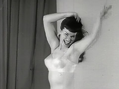 Dancing is Best Done in Lingerie 1950