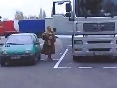 Anastasia Kass Blowjob In A Fur Coat