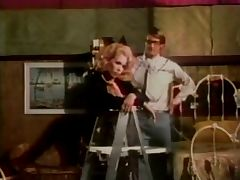 oldschool nerd gets lucky with hot redhead vintage clip