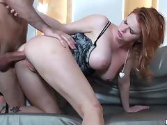 Stunning European Redhead Babe Tarra White Loves Anal