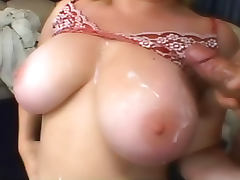 Chubby chick hardcore titjob
