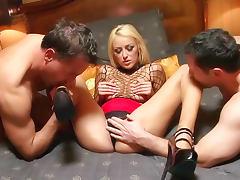 Breanne Benson glamorous hardcore threesome