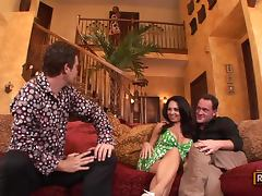 Demi Delia and Holly West Switch Husbands For A Hot Swingers Foursome