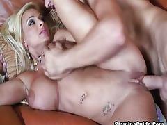Big Ass MILF Fucked On Her Big Tits