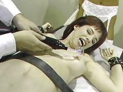 Fetish hospital torture doctor session