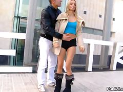 Blonde Portuguese Beauty Erica Fontes Ready For Action