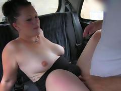 Balls sucking babe Alexa fucks in the taxi