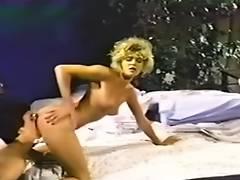 Ginger Lynn Tom Byron in 'Talk Impure to Me three' 1984