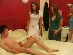 Brother videos. Since that man is not brother to our chick then she gladly jumps on his dong