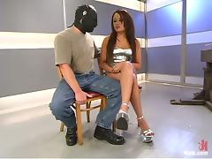 Gorgeous Latina Annie Cruz Playing with Guy in Wild Femdom Pegging Vid