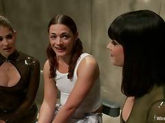 Bobbi Starr and Felony teach a nasty girl a good lesson