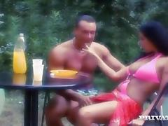 Claudia Ferrari gets fucked remarcably well during a picnic