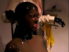 Dominatrix videos. Raunchy dominatrix might at first cane your butt but then swallow the dick load