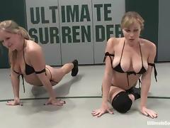 A handful of lusty lesbians understand reaction behaviour and shagging on tatami