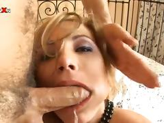 Fisting a Blonde's Ass Before Pumping and Fucking Her Pussy