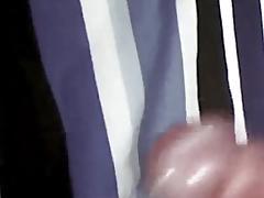 Closeup Cock Dick Stroking with Hot Cumshot