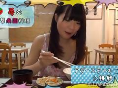 Sweet Ichigo Tominaga enjoys huge dick fucking her