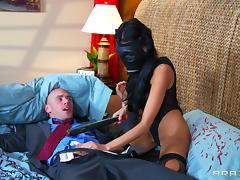 Terrific hardcore sex scene with brunette babe Breanne Benson