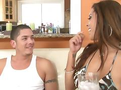 Francesca Le And Alex Gonz Go Really Hardcore Over A Couch