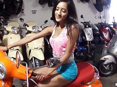Epic Latina pornstar ecstatic as she gets drilled hardcore